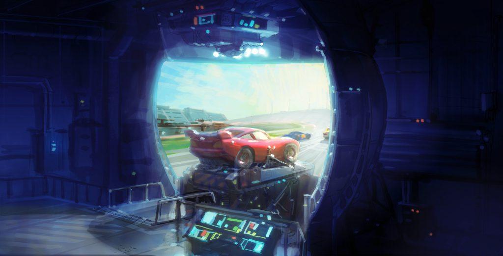 «Тачки 3» и NASCAR: наш человек на презентации Pixar 10