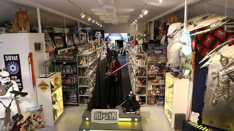 Музей «Звёздных войн» в США ограбили на 200 тысяч долларов