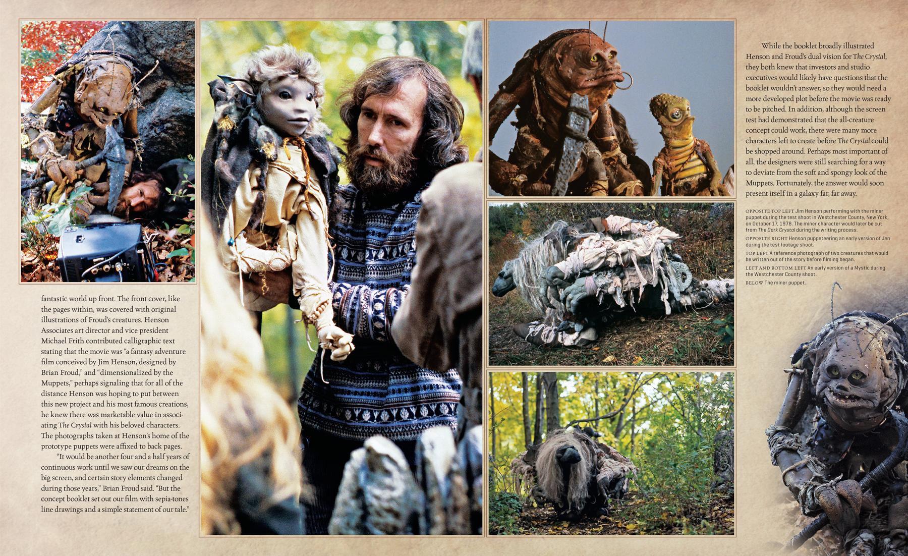 Арт: куклы и фотографии со съёмок в новом артбуке по фильму «Тёмный кристалл» 4