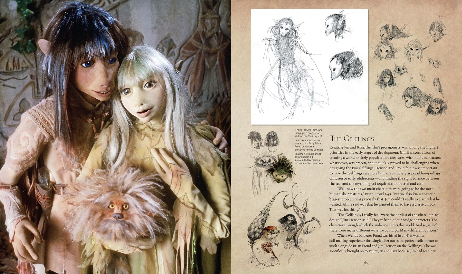 Арт: куклы и фотографии со съёмок в новом артбуке по фильму «Тёмный кристалл» 2