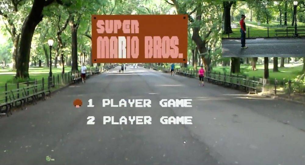 Игру Mario воссоздали в дополненной реальности