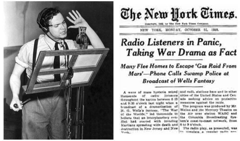 Радиоспектакль «Война миров»