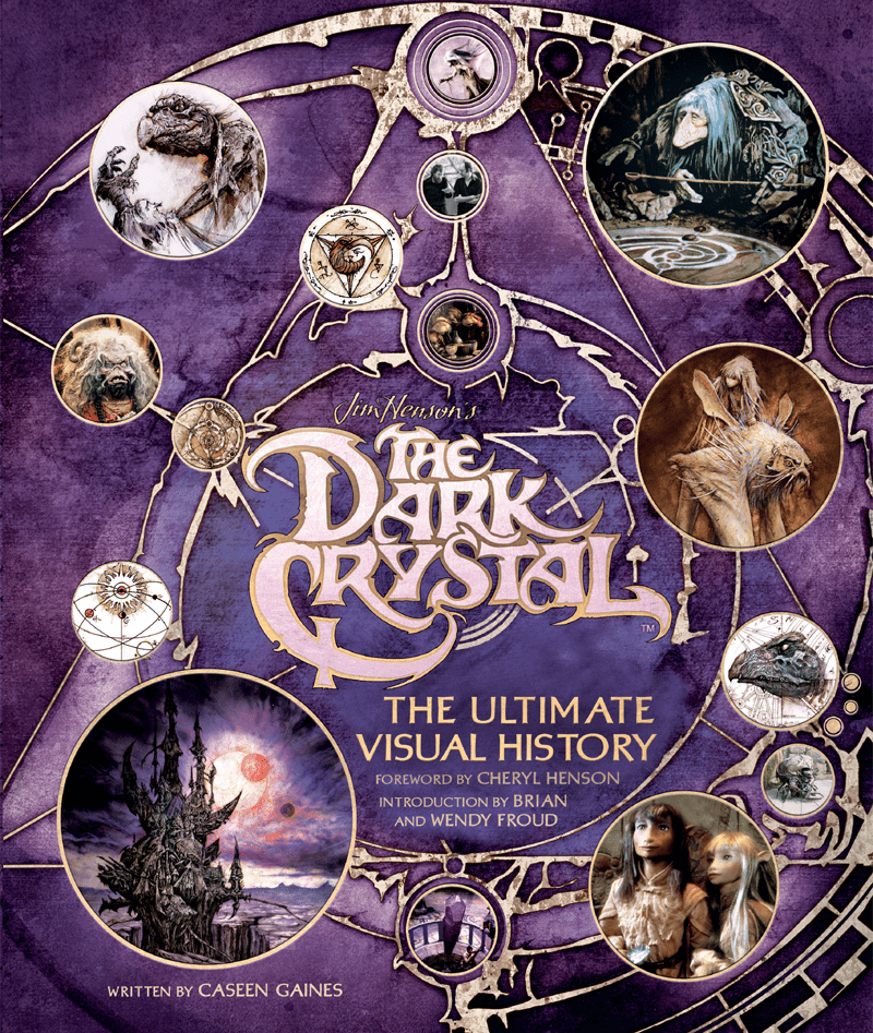 Арт: куклы и фотографии со съёмок в новом артбуке по фильму «Тёмный кристалл» 1