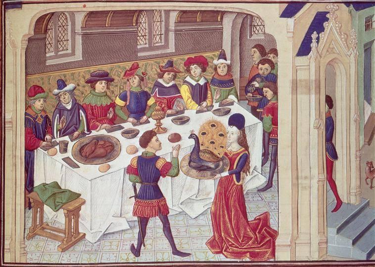 Средневековая еда 3