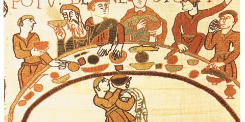 Средневековая еда 1