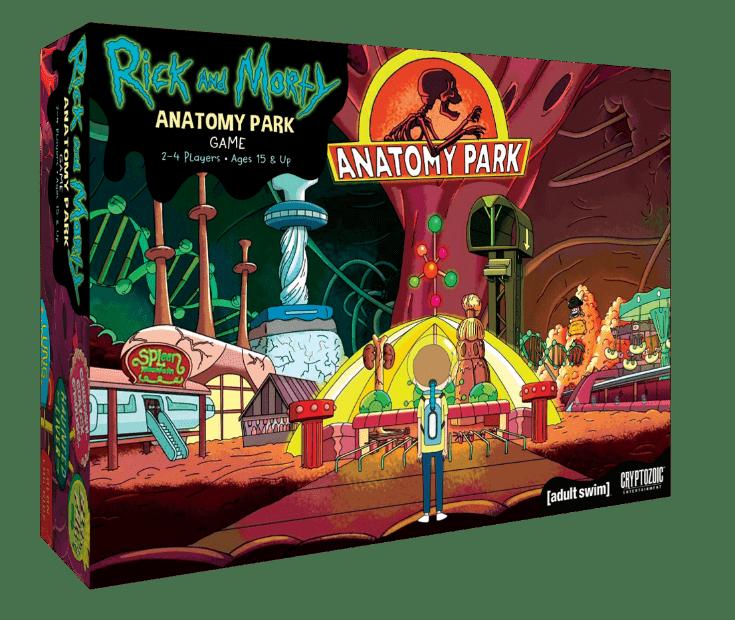 «Анатомический парк» из «Рика и Морти» стал настольной игрой