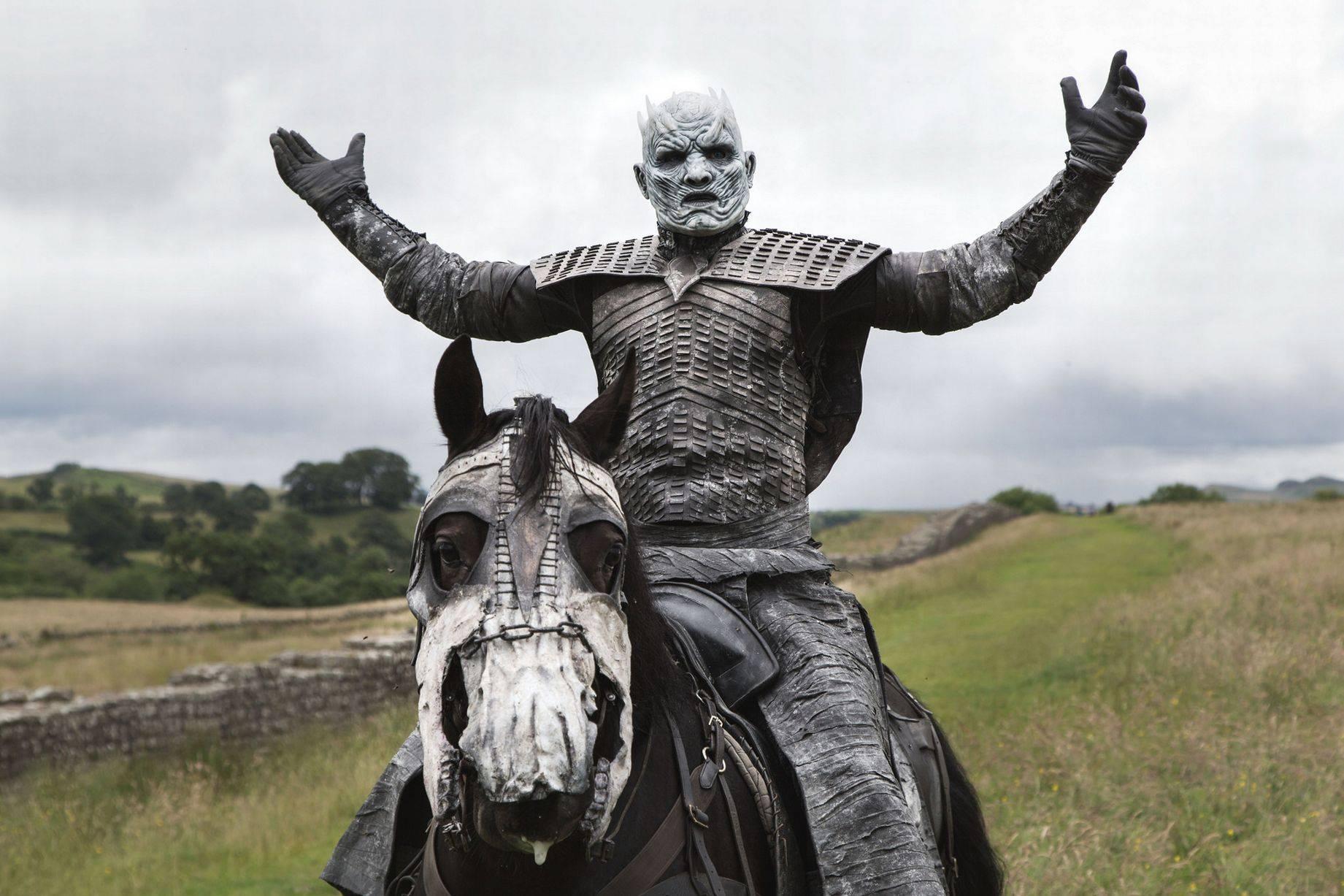 Фото: Белые ходоки из «Игры престолов» прошлись по Лондону 9