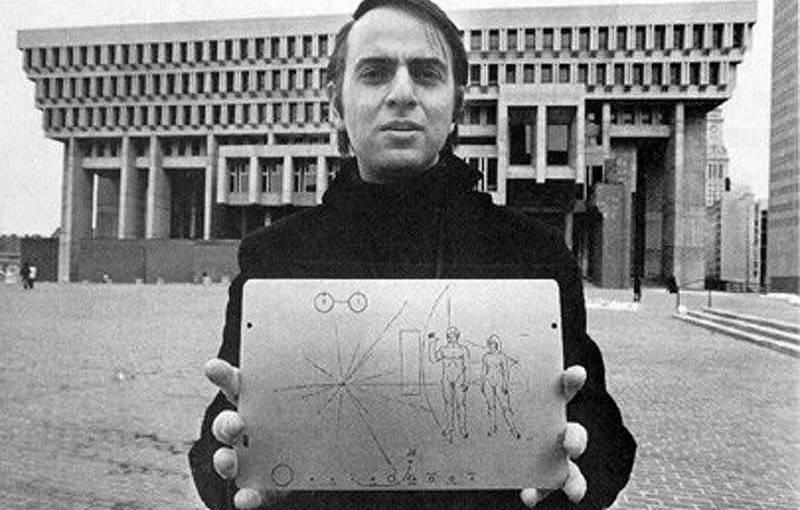 Карл Саган и пластинка Пионера