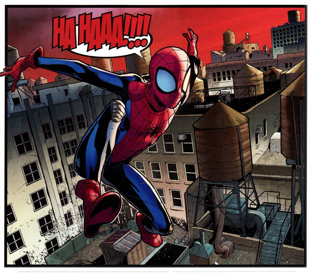 Выбираем лучшего Человека-паука 7