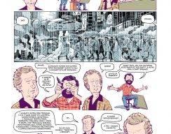Комикс: Лезвие бритвы