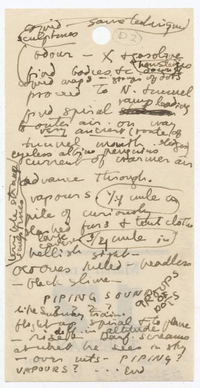 Университет Брауна выложил отксканированные манускрипты Говарда Лавкрафта 2