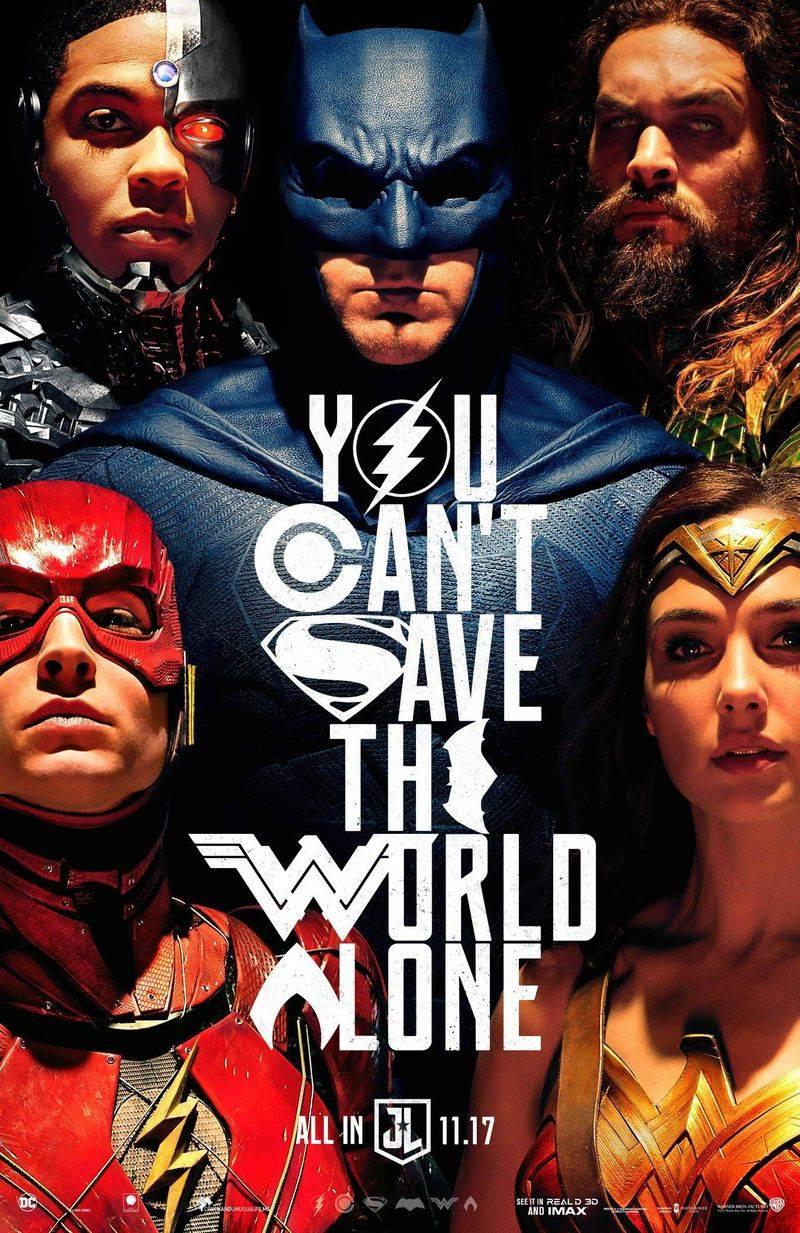 Вышел новый трейлер «Лиги Справедливости» 1