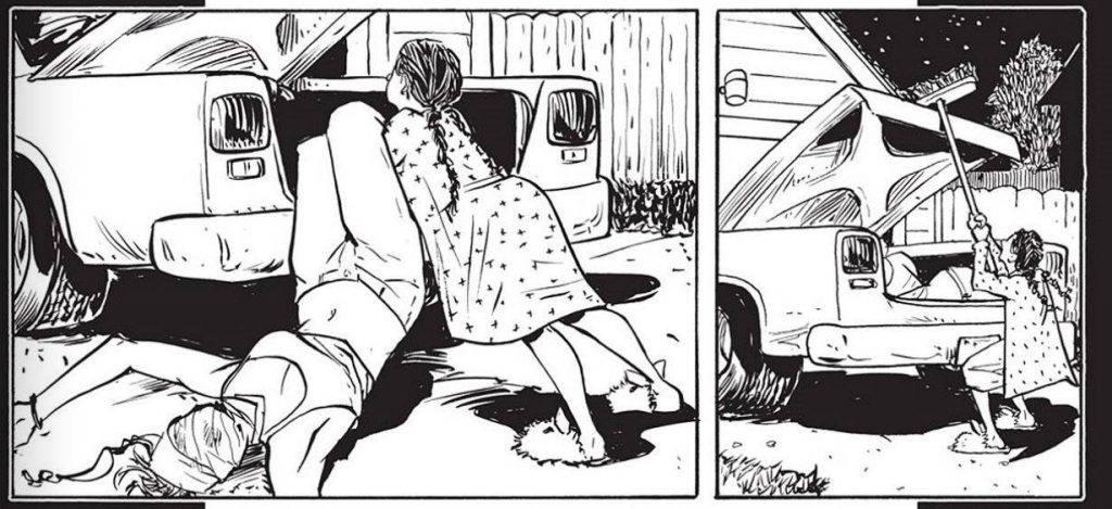 «Воскресение Рэйчел»: комикс-ужастик в духе Кроненберга 4