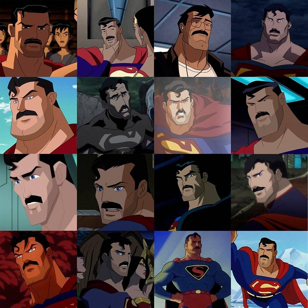 Фотожабы: все хотят увидеть Супермена с усами 2