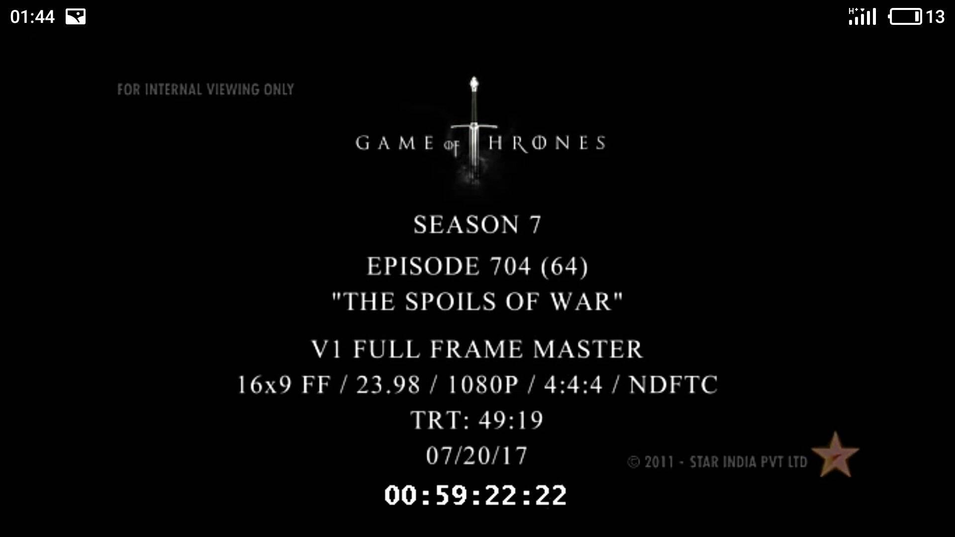Неизвестные слили новую серию «Игры престолов» раньше времени. И она взорвала интернет!