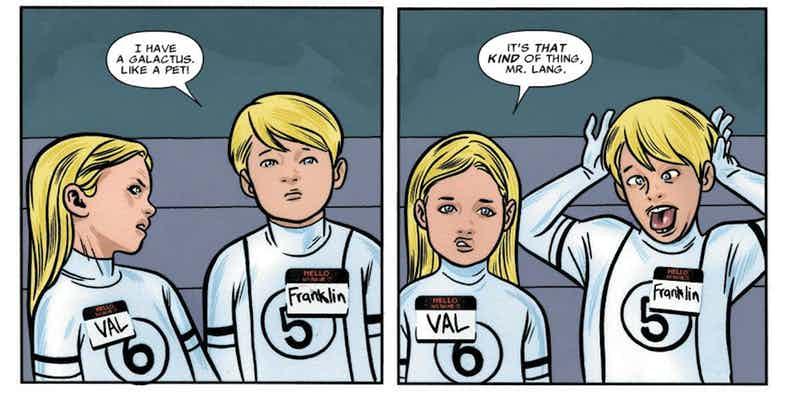 Слух: новый перезапуск «Фантастической четвёрки» будет основан на комиксе Kindergarten Heroes