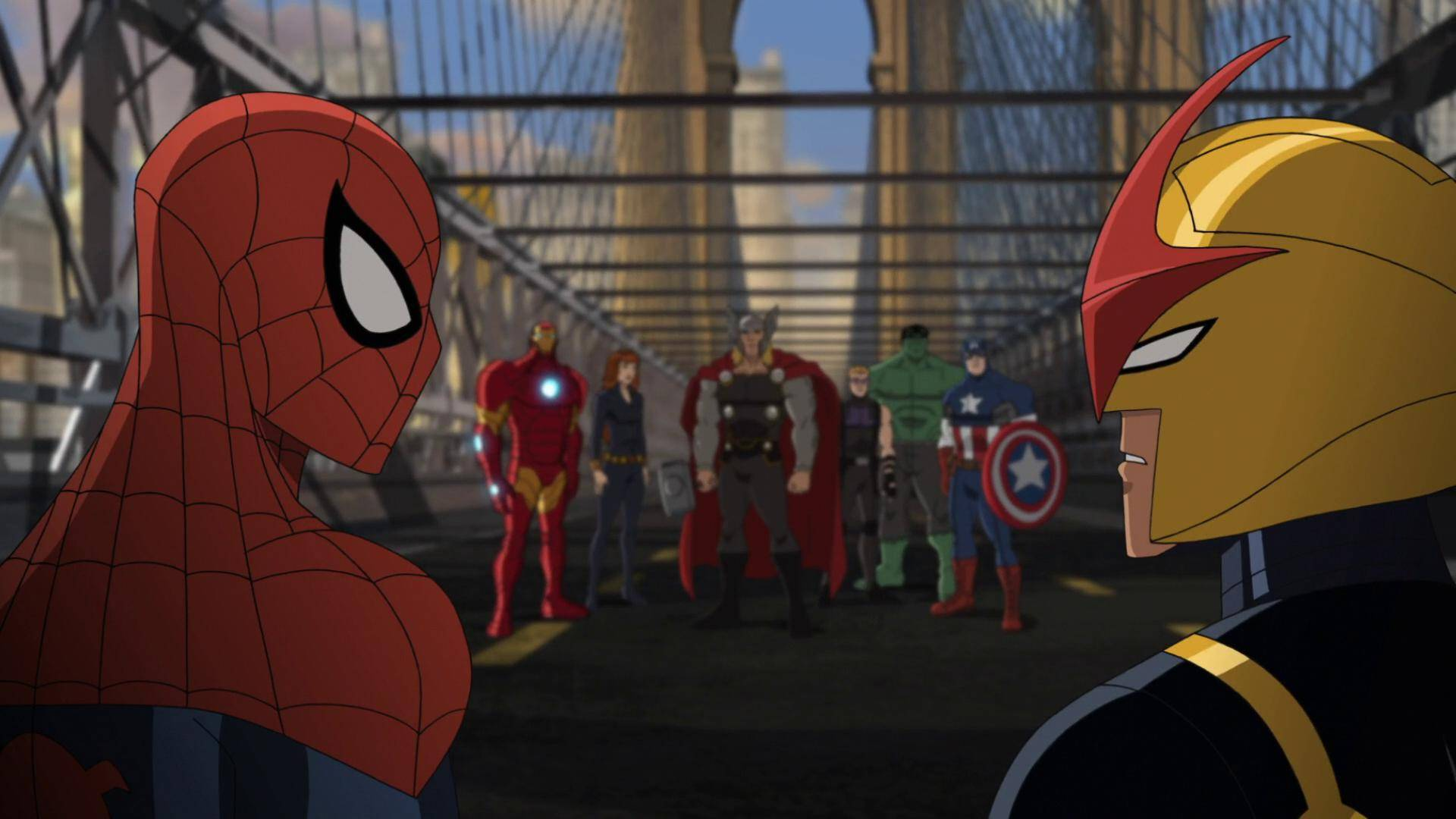 Стэн Ли и продюсеры — о мультсериале «Великий Человек-паук» 6
