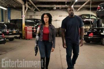 Первый кадр второго сезона сериала «Люк Кейдж» показывает бионическую руку Мисти Найт