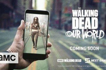 По мотивам сериала «Ходячие мертвецы» выйдет мобильная AR-игра