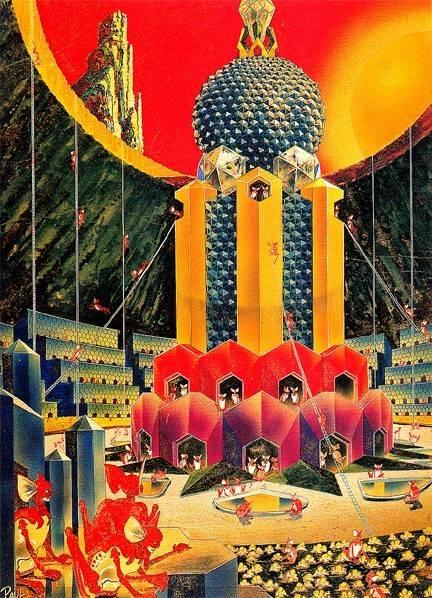 Галерея несбывшегося будущего. Другие планеты 11