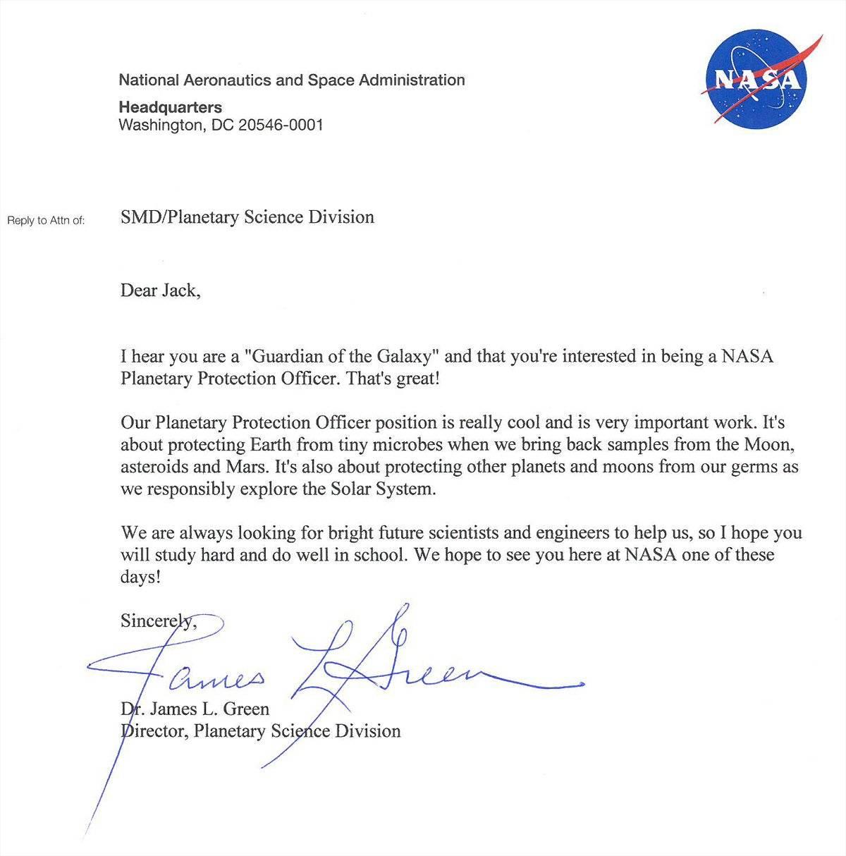 «Я видел все фильмы о космосе и пришельцах»: на вакансию NASA откликнулся 9-летний мальчик 2