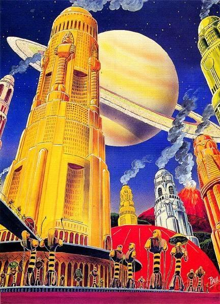 Галерея несбывшегося будущего. Другие планеты 24