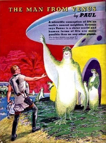 Галерея несбывшегося будущего. Другие планеты 32