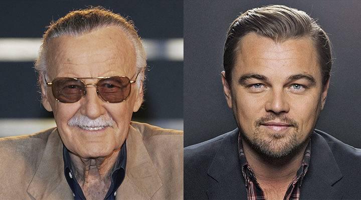 Леонардо ДиКаприо хочет сыграть Стэна Ли в биографическом фильме