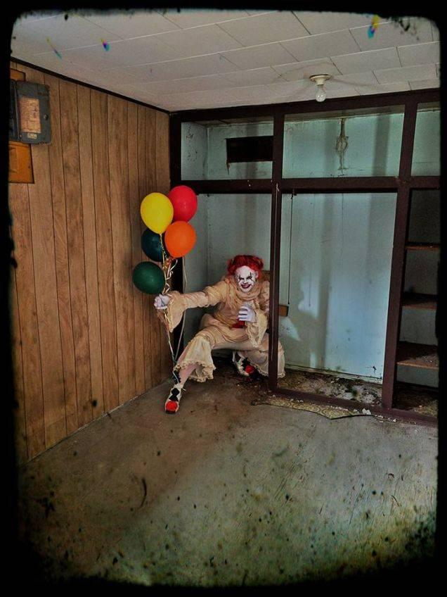 Косплей: страшные клоуны и пугающие дети из фильма «Оно» 6