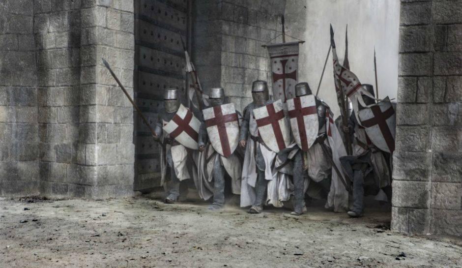 Вышел трейлер исторического сериала «Падение рыцарей»