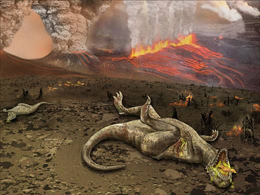 Почему вымерли динозавры? 2