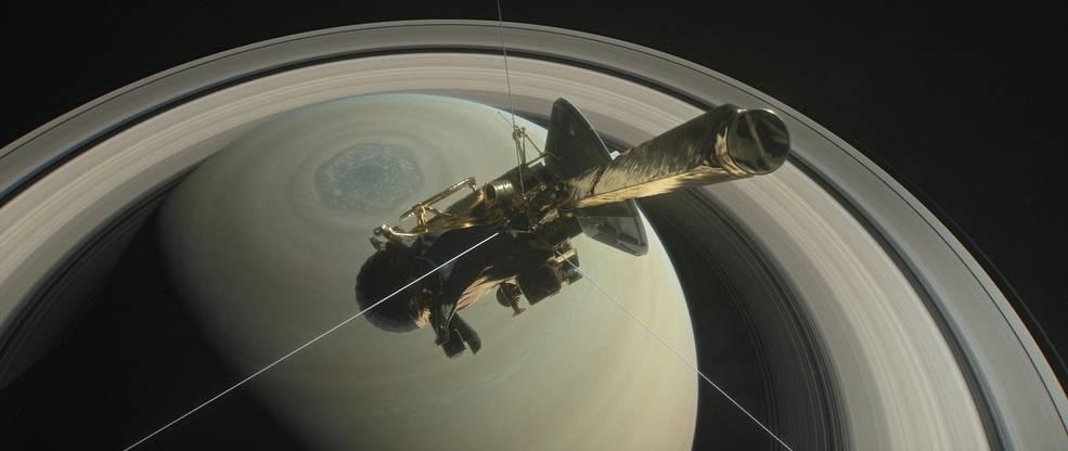 Прощай, «Кассини»: итоги 20-летней миссии к Сатурну 6