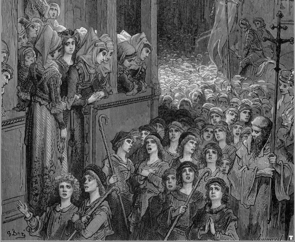 Бродяги и нищие в Средние века 19
