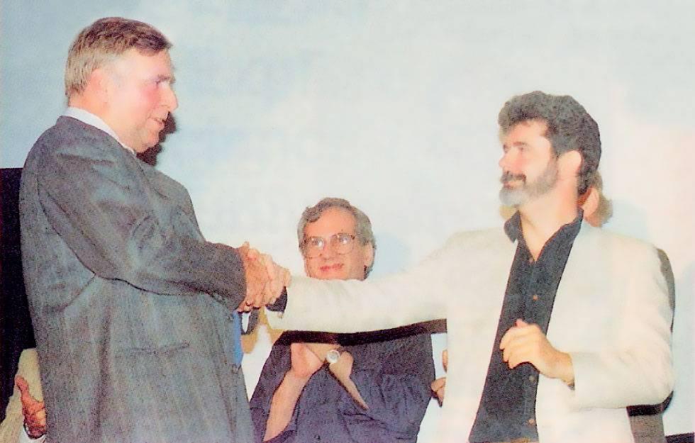 Джин Родденберри и Джордж Лукас
