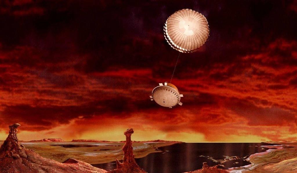 Гюйгенс на Титане