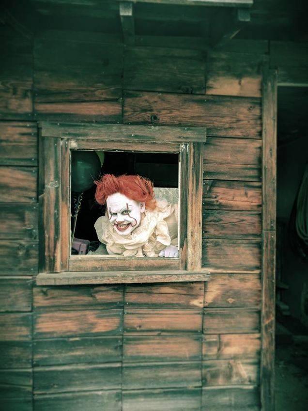 Косплей: страшные клоуны и пугающие дети из фильма «Оно» 7