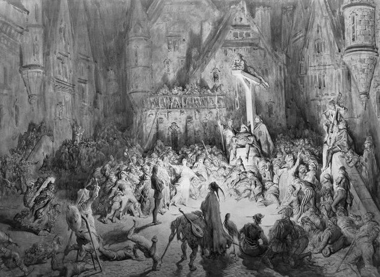 Бродяги и нищие в Средние века 5