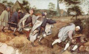 Бродяги и нищие вСредние века