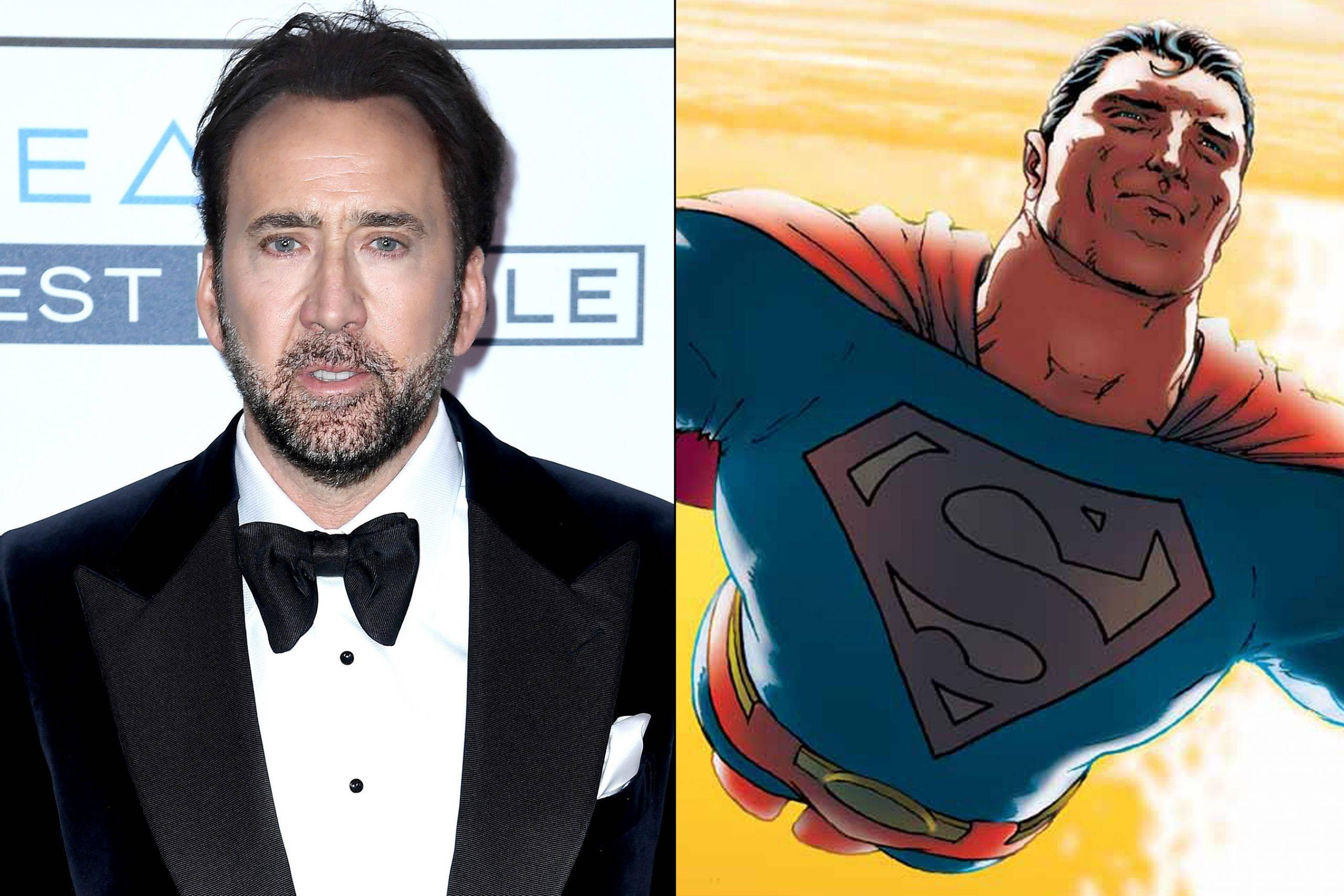 Николас Кейдж рассказал подробности о так и не снятом фильме про Супермена