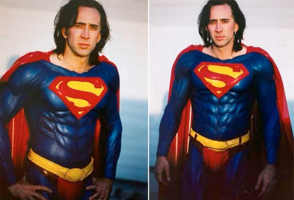 Николас Кейдж рассказал подробности о так и не снятом фильме про Супермена 1