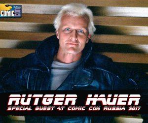 Рутгер Хауэр едет на московский Комик-Кон
