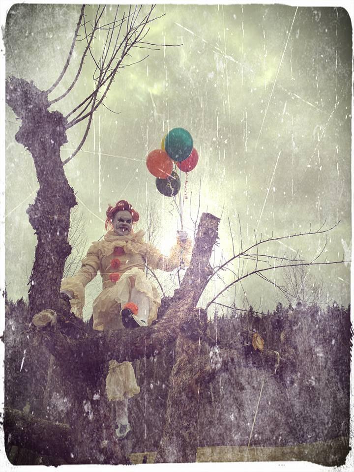 Косплей: страшные клоуны и пугающие дети из фильма «Оно» 5