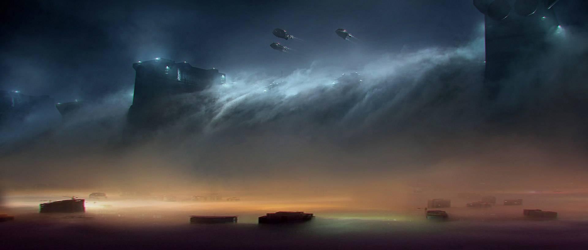 Виды киберпанка: стильные концепт-арты к фильму «Бегущий по лезвию 2049» 34