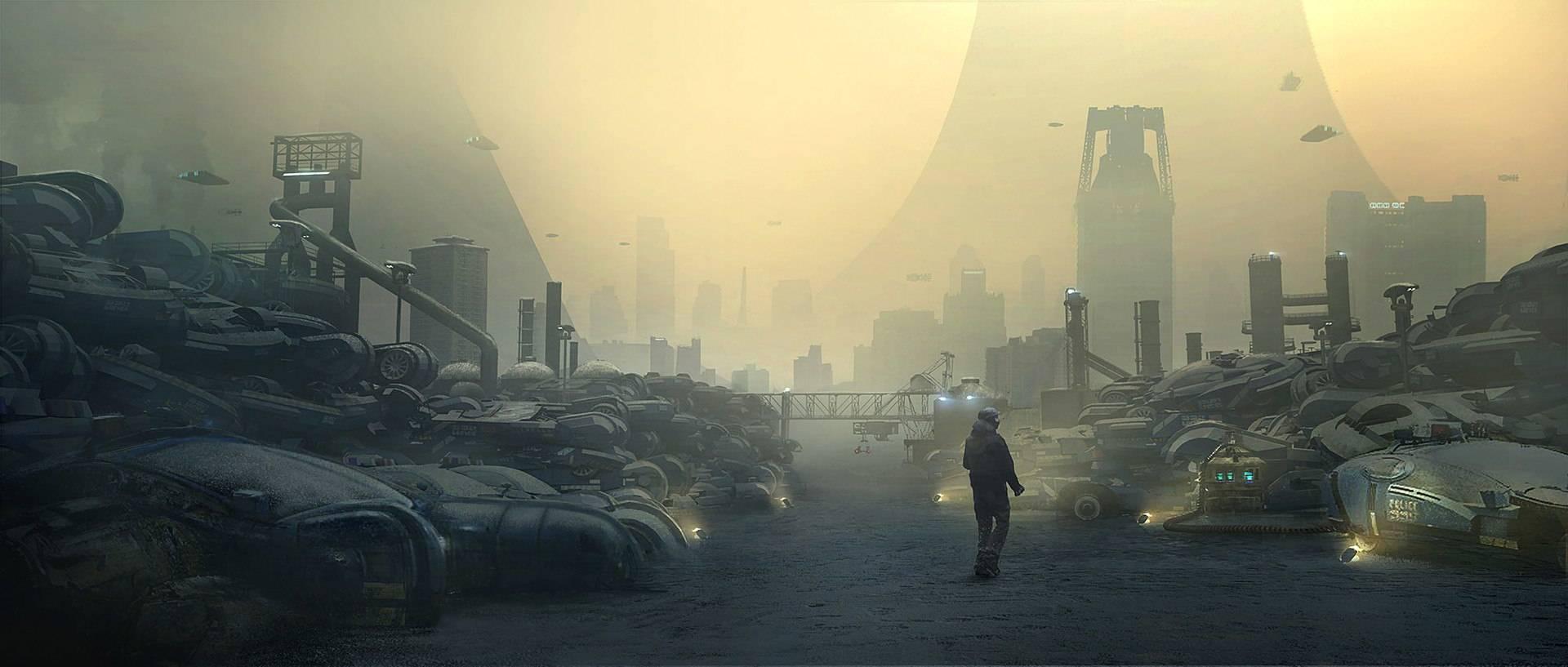 Виды киберпанка: стильные концепт-арты к фильму «Бегущий по лезвию 2049» 33