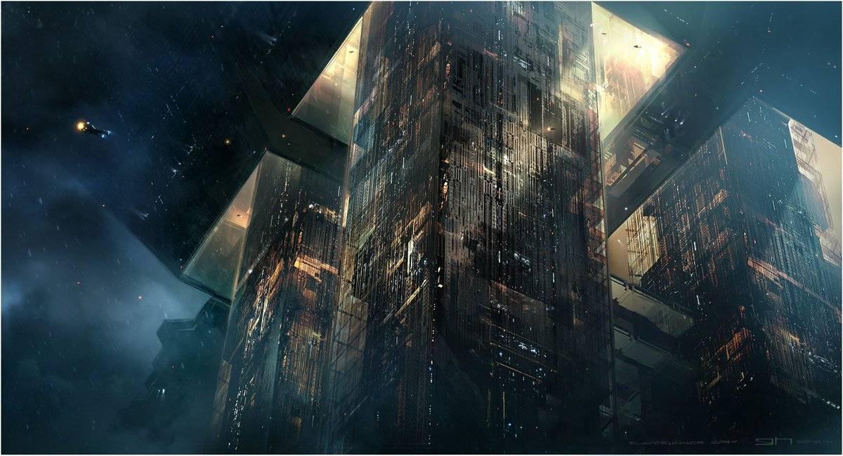 Виды киберпанка: стильные концепт-арты к фильму «Бегущий по лезвию 2049» 31