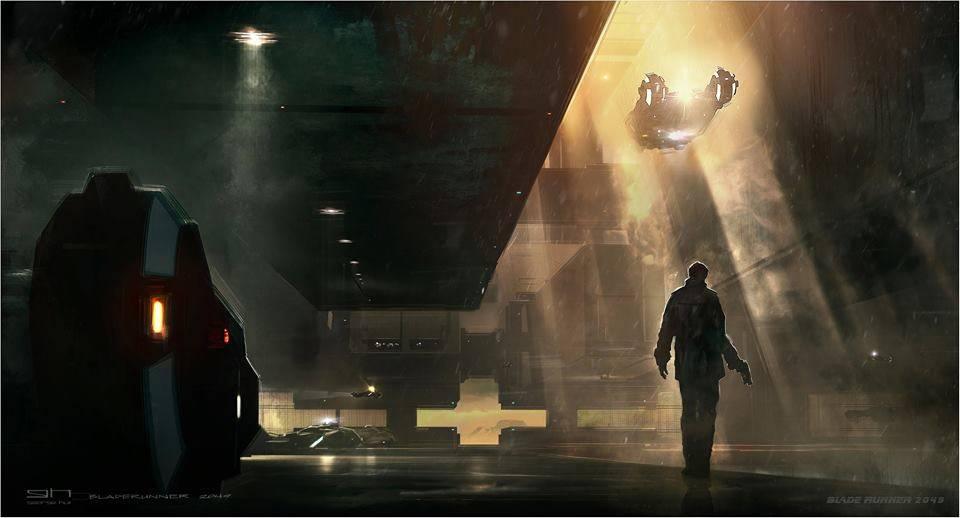 Виды киберпанка: стильные концепт-арты к фильму «Бегущий по лезвию 2049» 29