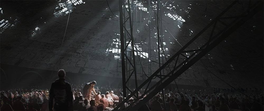 Виды киберпанка: стильные концепт-арты к фильму «Бегущий по лезвию 2049» 25