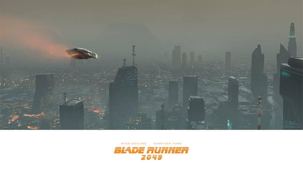 Виды киберпанка: стильные концепт-арты к фильму «Бегущий по лезвию 2049» 16