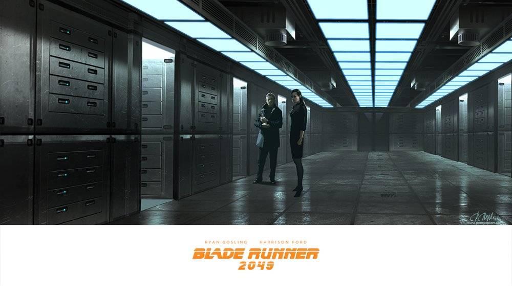 Виды киберпанка: стильные концепт-арты к фильму «Бегущий по лезвию 2049» 14