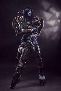 Дренейка-воин